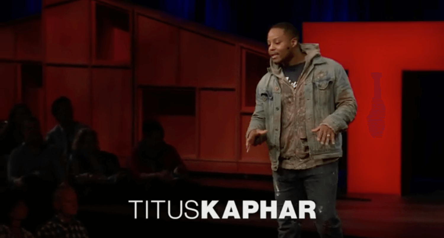 Titus Kaphar's TED Talk: Discovering Visual Intelligence