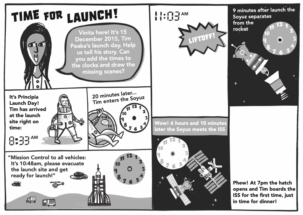 Space and Time Activity for Primary-Aged Children